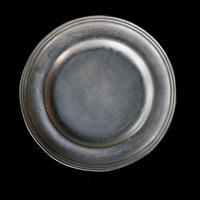亀田大介 銀磁9.5寸リム皿