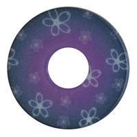 紋様鍔 さくら紫色