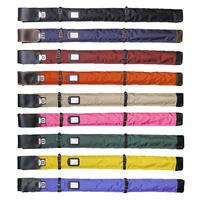 ナイロン略式ワンタッチ横バンド付2 本入竹刀袋 3.7尺中学生用 日本製