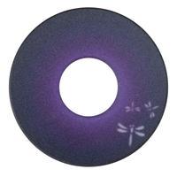 紋様鍔 ワンポイントとんぼ紫色