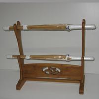 ミニ竹刀用 掛け台