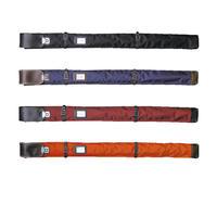 ナイロン略式ワンタッチ横バンド付2 本入竹刀袋 一般用 日本製