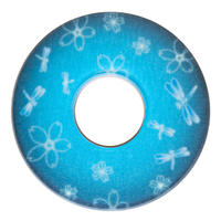 紋様鍔 とんぼさくら 水色