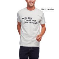メンズ スタックロゴティー / Black Diamond ブラックダイヤモンド