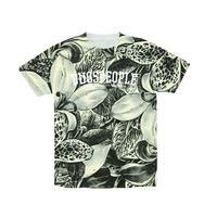 花総柄Tシャツ