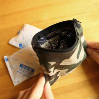 保冷剤(4つ)&POUCHセットCamouflage