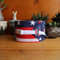 "NECK COOLER  USA  - vintage  bandana -  "" 6 """