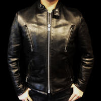 Schott Vintage Leather Singles Riders Jacket
