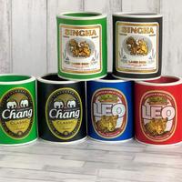 タイビール人気銘柄 保冷缶ホルダー ビアチャーン・LEO・シンハー