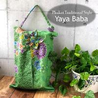 【Yaya Baba】タイバティック布製 ティッシュカバー  吊り下げタイプ