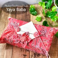 【Yaya Baba】タイバティック布製 ティッシュカバー