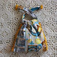vintage kitchen fabric bag