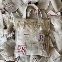 grain sack patchwork bag