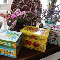 antique recipe box