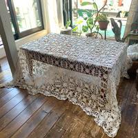 antique crochet blanket