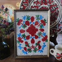 petal embroidery  frame