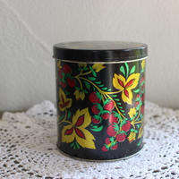 vintage Berry tin box medium