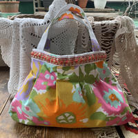 grany bag white flower