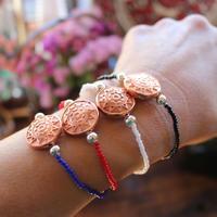 vintage lusite rubber bracelet