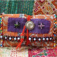 vintage khanta beads porch