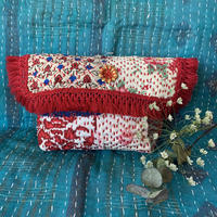 vintage fabric stitch porch