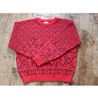 red knit