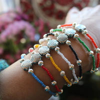 vintage lucite rubber bracelet