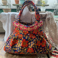 grany bag orange flower