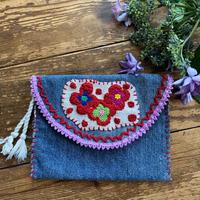 denim embroidery  porch