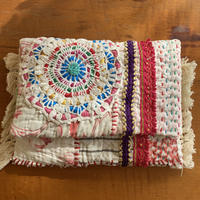 antique  quilt porch