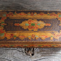 vintage Bulgaria woodbox