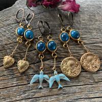 vintage blue connectors pierce