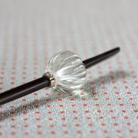 蜜柑玉 氷 蜻蛉玉簪(とんぼ玉かんざし)