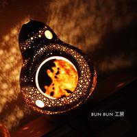 ひょうたんランプ---命の星(地球)