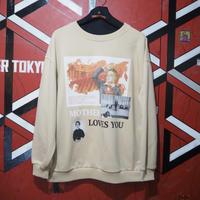 "MIRA-MIRU!  Sweatshirt ""MOTHER LOVES YOU"""