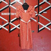 Kirpi Dress Red
