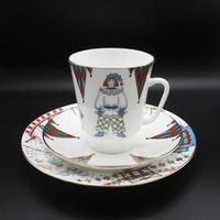 Lomonosov/Imperial Porcelain Ballet Collection Petrushka 3 pieces set