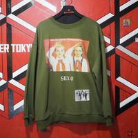 "MIRA-MIRU!  Sweatshirt ""SEX0"""