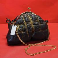 TTRSHCHNKVA Bag Black×Gold