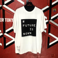 FUTUREISNOWN box logo T-shirt