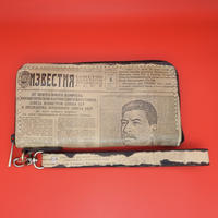 Corrida Leather Clutch Wallet Stalin