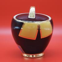 60's Vintage Sugar Pot from GDR Bemer&Schmidt Porcelain