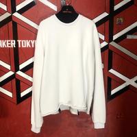 FUTUREISNOWN white sweatshirt