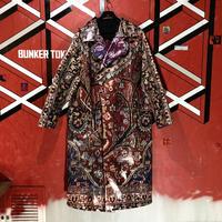 ROMA UVAROV soviet carpet coat