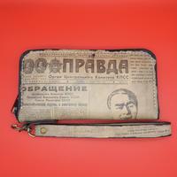 Corrida Leather Clutch Wallet Brezhnev