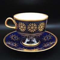 Lichte Porclain Echt Kobalt  Tea cup from GDR