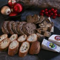 ケーキ&パン&チーズ クリスマスホームパーティセット  <店頭受取のみ 12月23日.24日.25日受取限定>