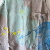 Kids clouds tank / clay