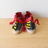 Kids espadrille / african red