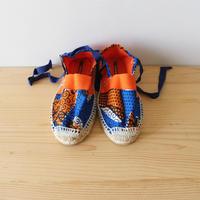 Kids espadrille / african orange